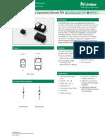 Littelfuse TVS Diode Array SESD Ultra Low Capacitance Discrete TVS Datasheet.pdf