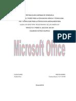 Informe Microsoft Office