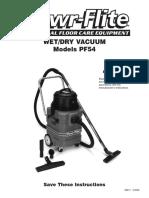 Vac PF54 Manual