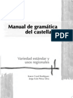 Rodriguez Karen Coral Y Perez Silva Jorge Ivan - Manual de Gramatica Del Castellano