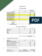 Costos ABC Zapatillas