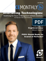 Finance Monthly | Interfacing Technologies | BPM | EPC