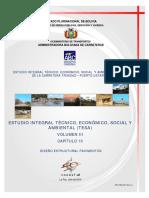 ABC- Estudio Integral Técnico, Económico, Social Y Ambiental (TESA) de La Carretera Trinidad – Puerto Ustarez