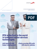 RTA Dubai first in the world