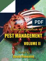 Encyclopedia of Pest Management