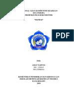 Contoh Proposal Ujian Kompetensi Keahlian Multimedia Film Dokumenter 2018