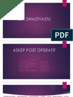Askep Post Operatif