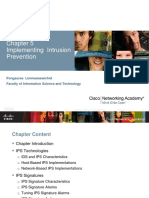 Cisco_Chapter 5 - Implementing Intrusion Prevention