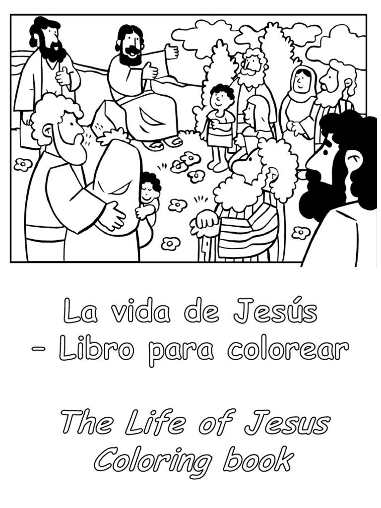 155558809-La-Vida-de-Jesus-para-colorear-Life-of-Jesus-Coloring-Book ...