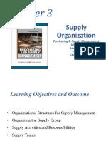 401 Ch 3 Supply Organization