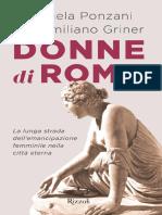 Donne Di Rome - Intro