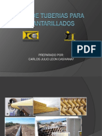 253234095 Tipos de Tuberias Para Alcantarillados Pptx