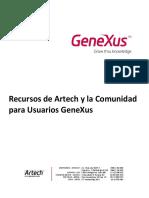 Recursos de Artech y La Comunidad Para Usuarios GeneXus