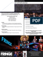 HFF 2018 Sponsorship One Sheet
