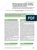Avaliação das Dimensões Transversas na Maxila e Mandíbula em Pacientes na Fase da Dentição Mista Tratados com Aparelho Ortodôntico Removível Superior