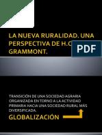 Presentacion. La Nueva Ruralidad. Grammont