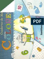Cuaderno de Matematicas Kinder