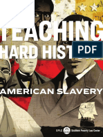 Teaching Hard History American Slavery