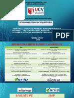 Diferencias Snip y Invierte Pe