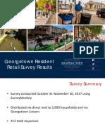 Georgetown Resident Retail Survey Results - Anc2e Presentation