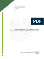Infografía Funciones Psicólogo Educativo