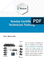 Yeastar Certified Technician