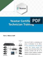 Yeastar Certified Technician