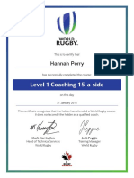 level 1 coaching 15-a-side certificate 2016-01-31