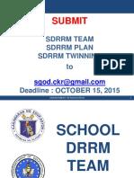 SDRRM Presentation