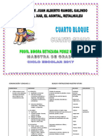 planificacion cuarto primaria