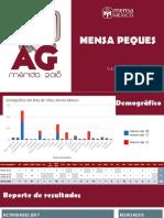 Reporte de actividades - Mensa Peques AGMérida2018