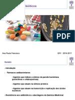 Fármacos Antibióticos
