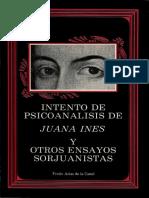 Intento de Psicoanalisis de Juana Ines