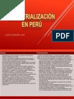 Industrializacion PERU