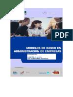 Modelos de Rasch en Adm de Empresas