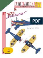 №4 BOEING P-26 PEASHOOTER