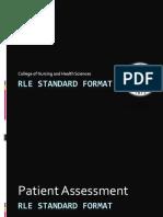 RLE Standard Format