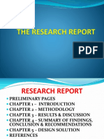Research Report Writing-dr. Menes