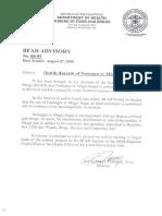 bfad advisory 2000-005 [Health Hazard of Neotogen or Magic sugar].pdf