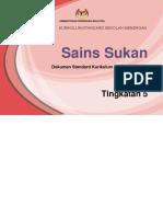 DSKP Sains Sukan Tkt 5 KSSM