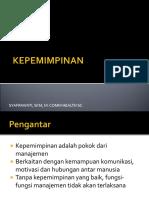 K3. KEPEMIMPINAN