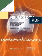 Manual Washington de Especialidades Clinicas Neumologia