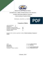 Program Comunicare Politica Ro 2010