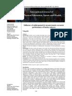 Influence of Anthropometric Measurements