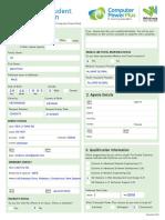 8. 2017 International Application Form
