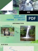 Coban Jahe Waterfall