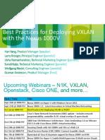 VXLAN With N1KV Best Practices - Oct 3rd 2012 v1