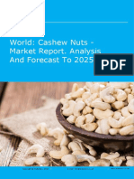 World Cashew Nuts - Market Report. Analysis and Forecast to 2025
