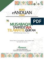 Buku Panduan Musabaqah Tahfidz