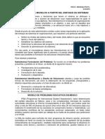 Ing. de Sistemas - Formulación de Modelos a Partir Del Enfoque de Sistemas